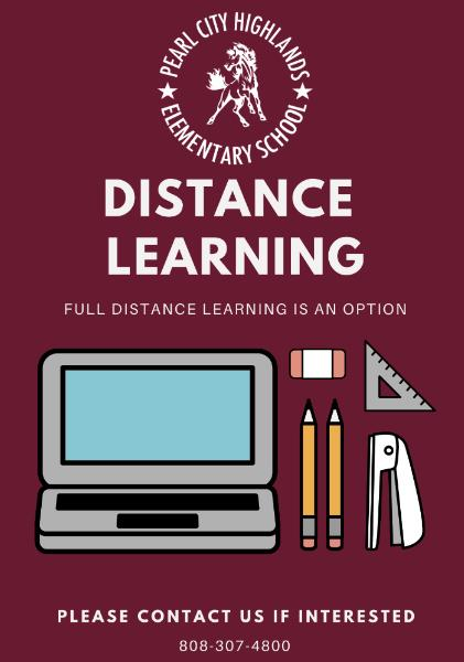 Full Distance Learning Option - PCHES News & Announcements